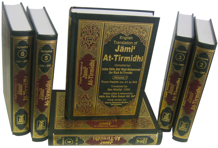 jami at tirmidhi 6 vol set islam future the future for islam. Black Bedroom Furniture Sets. Home Design Ideas
